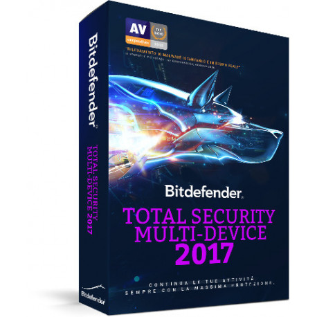 BitDefender Total Security Multi-device 5 dispositivi